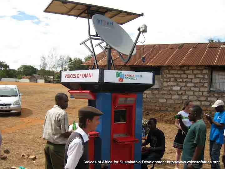 fit-PC2 в проекте по созданию интернет киосков на солнечных батареях в сельских районах Африки