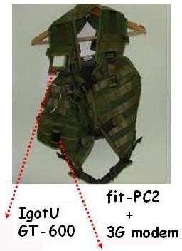Неттоп fit-PC2 в системе удаленного контроля и управления на театре военных действий