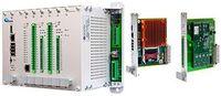 Внешний вид контроллера Колибри-К2 и функциональных модулей (процессорного и носителя мезонинов)