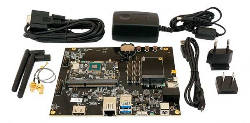 Evaluation Kit для CL-SOM-iMX8
