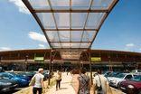 Система управления зданием торгового центра в Retail Park Dauphiné  площадью 30 000 м ² недалеко от Лиона.